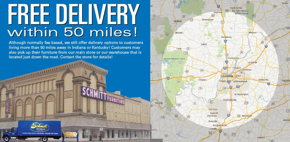 Furniture Home Delivery Schmitt Furniture New Albany In Indiana 47150 Floyd County