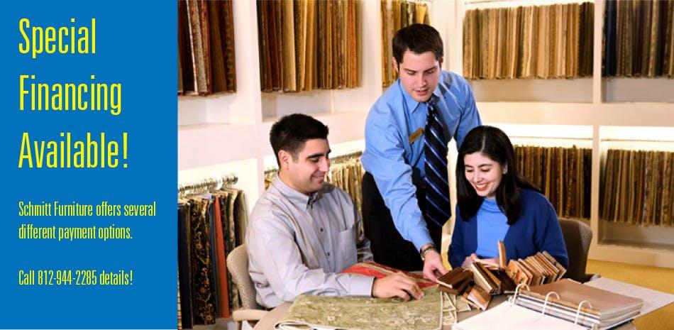 Furniture store financing finance furniture schmitt for Furniture 0 financing