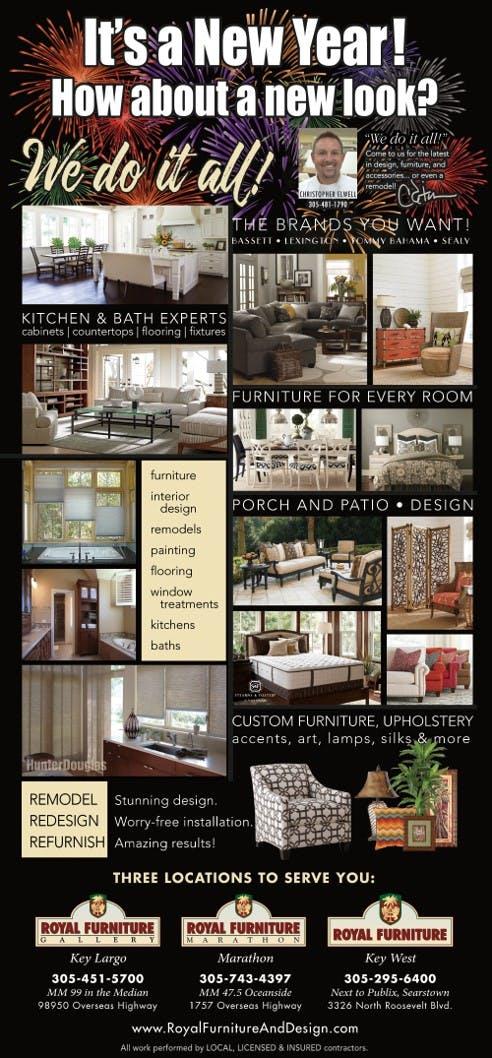 Furniture Store Florida Keys Royal Furniture And Design Marathon And Key Largo Flyer