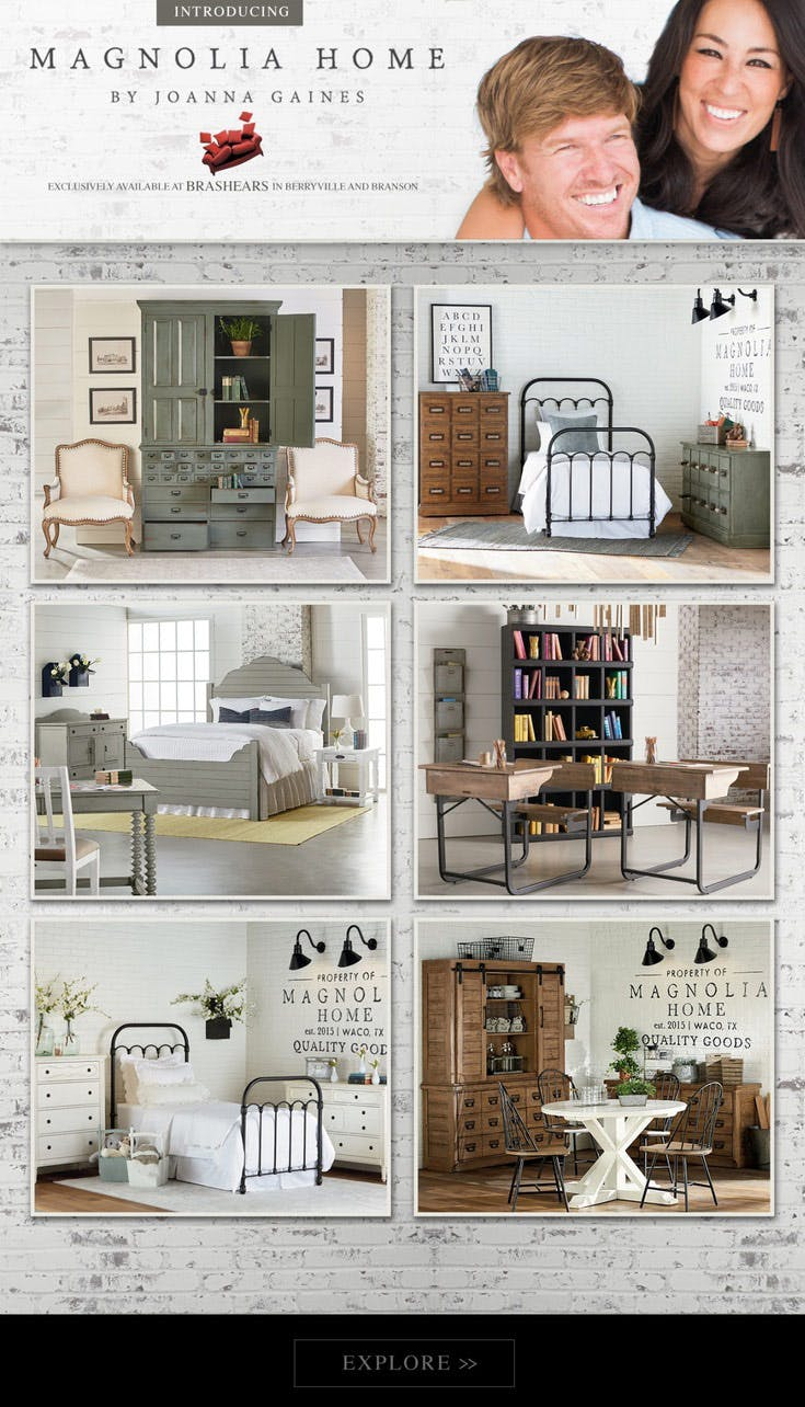 Magnolia Home Brashears Furniture Serving Arkansas Missouri