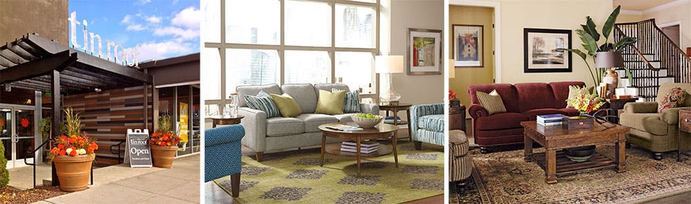 Marvelous ... But The Sales Staff Is Comprised Of Professional Interior Designers Who  Fuse Their Passion For Design With The Purpose Of The Furniture. The Tin  Roof