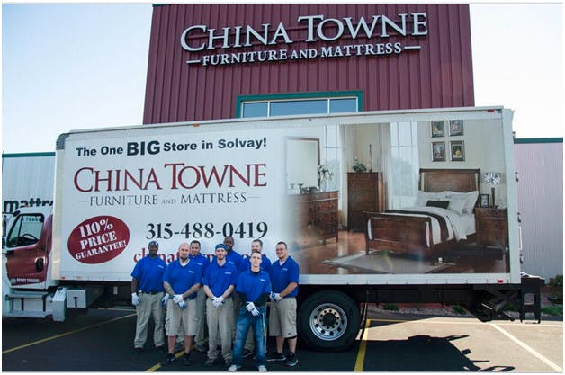 Furniture financing delivery china towne furniture for Possible and affordable furniture