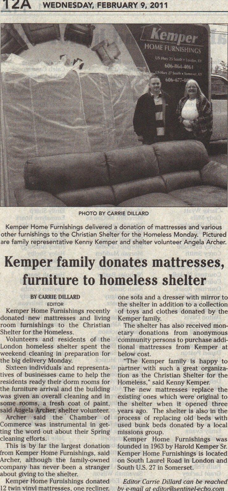 Kemper Home Furnishings