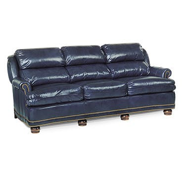 Living Room Louis Shanks Austin San Antonio TX - Leather sofa san antonio