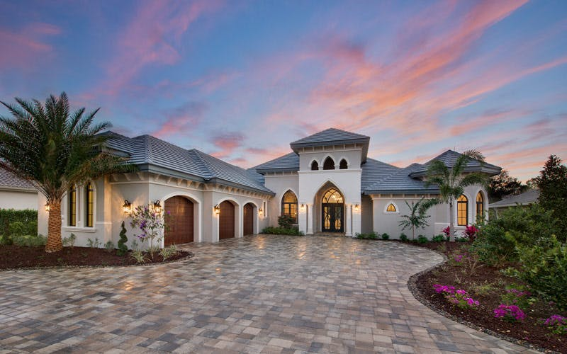 Model Home   St. Bridget By Florida Lifestyle Homes