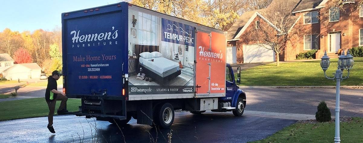 Delivery Delivering The Largest Furniture Selection