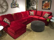 England Sectional Sofa This Finely Tailored Fabric Sectional Is