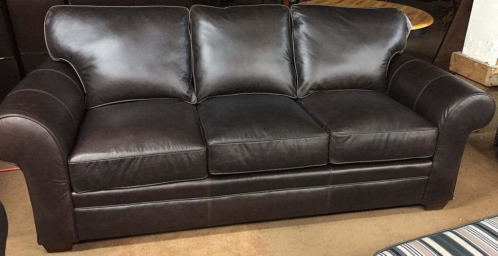 Broyhill Leather Sofa Perspectives Leather Sofa From The