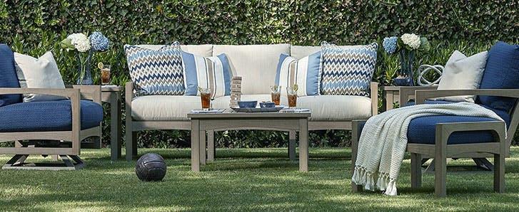 Custom Upholstery Outdoor Furniture