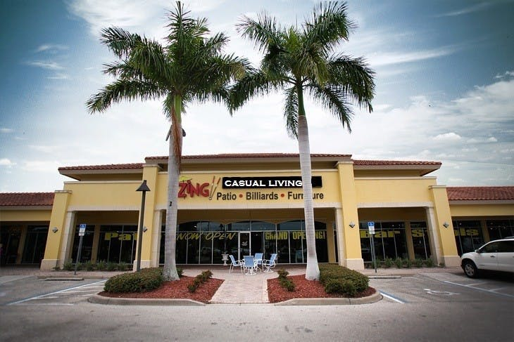 Zing Casual Living North Naples Storefront