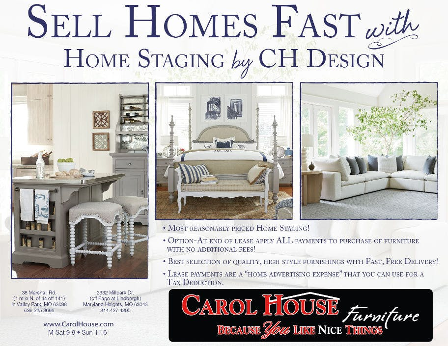 In-Home Design & In-Home Staging | Carol House Furniture