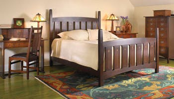 stickley bedroom furniture. Stickley Furniture Bed  Desk in Lancaster PA Bedroom and Camp Hill INTERIORS HOME