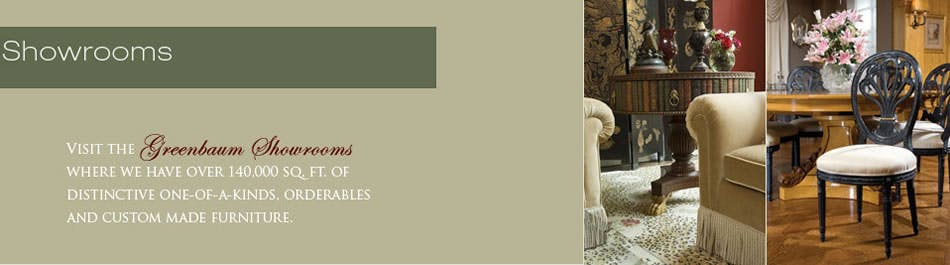 Greenbaum Interiors Invites You To Discover One Of The Most Comprehensive  Collections Of Home Furnishings And Design Resources In The World.