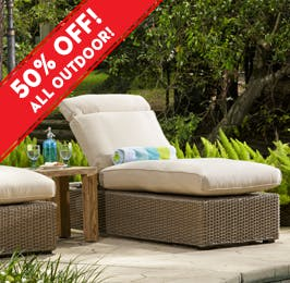 Bon Outdoor Sectionals · Outdoor Chaise Lounges
