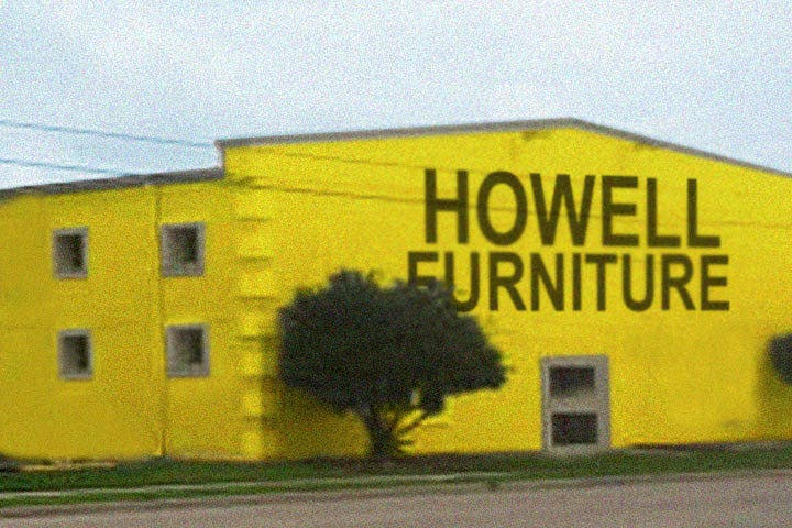 Our history howell furniture beaumont port arthur for Affordable furniture lake charles la