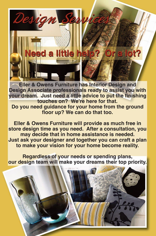 Design Services - Eller & Owens Furniture - Franklin NC, Haysville ...