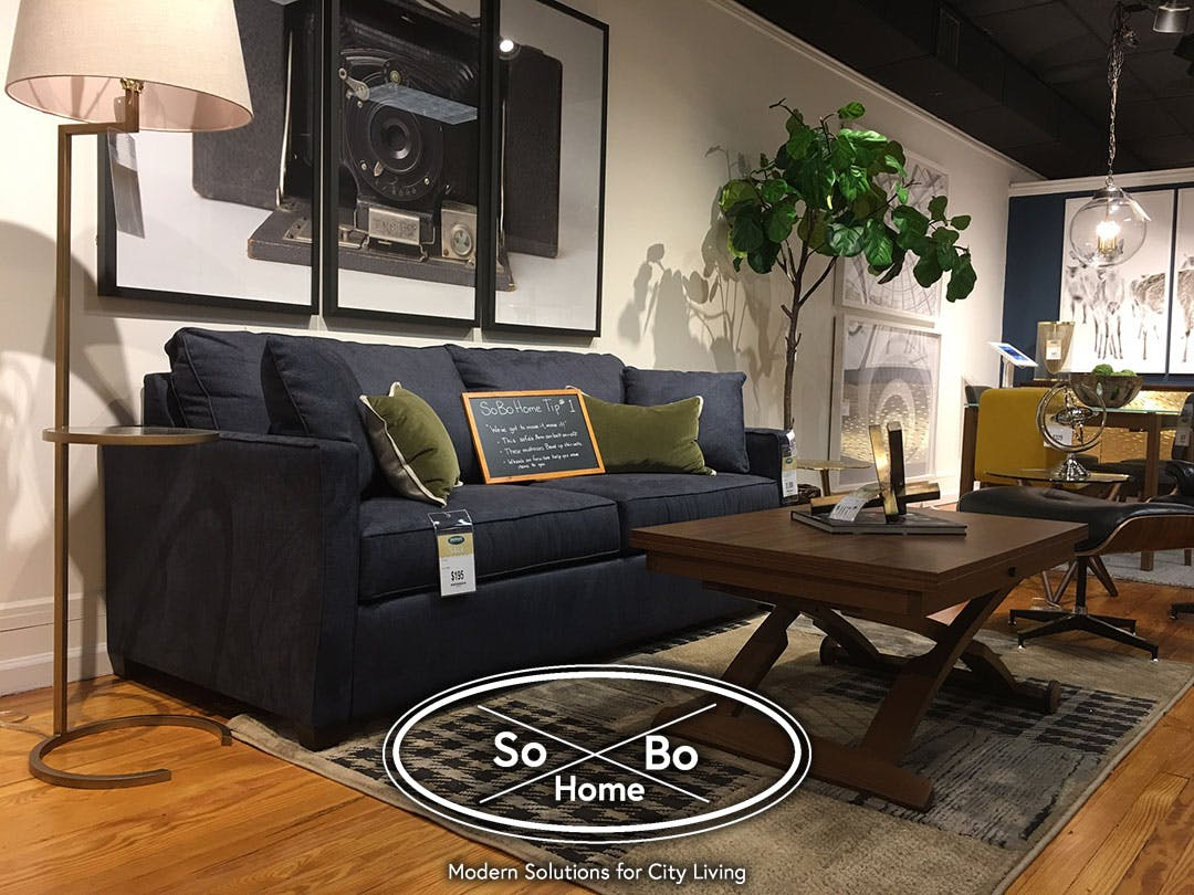 Charming ... Charming Rowhomes And Smaller Living Spaces Like Condos And Apartments,  So Weu0027ve Curated The SoBo Home Boutique For Furniture And Accessories That  Are ...