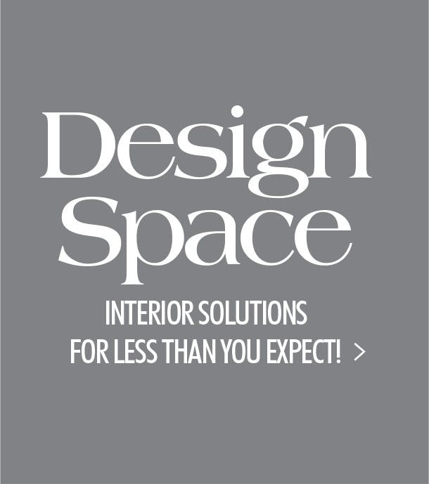 A Reason to shop at Howell, our Design Space interior solutions