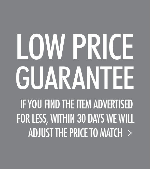 A Reason to shop at Howell, our Low Price Guarantee