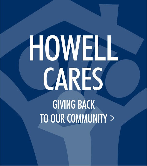 A Reason to shop at Howell, Howell Furniture Cares and gives back to our community