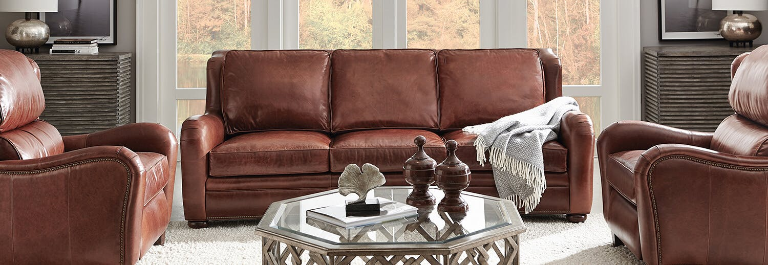 Bradington Young Leather Gallery Inside Good S Home Furnishings