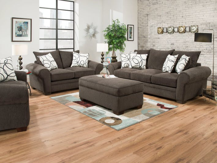 Elegant Lounge In Style. Living Room Furniture