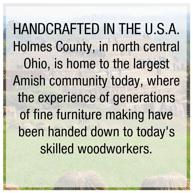Shop for Amish Made Furniture in Cincinnati and Dayton OH