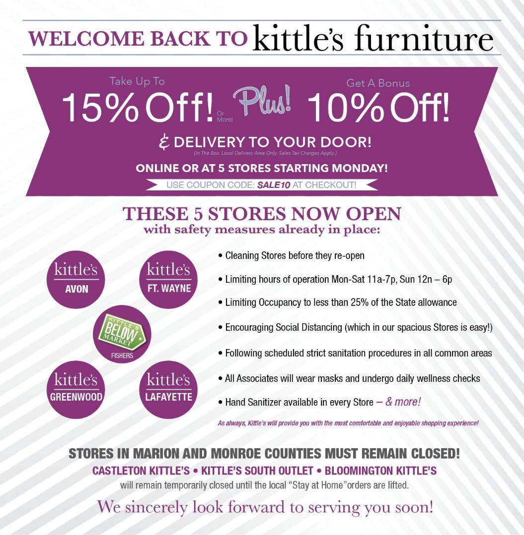 Cur Promotions Kittle S Furniture