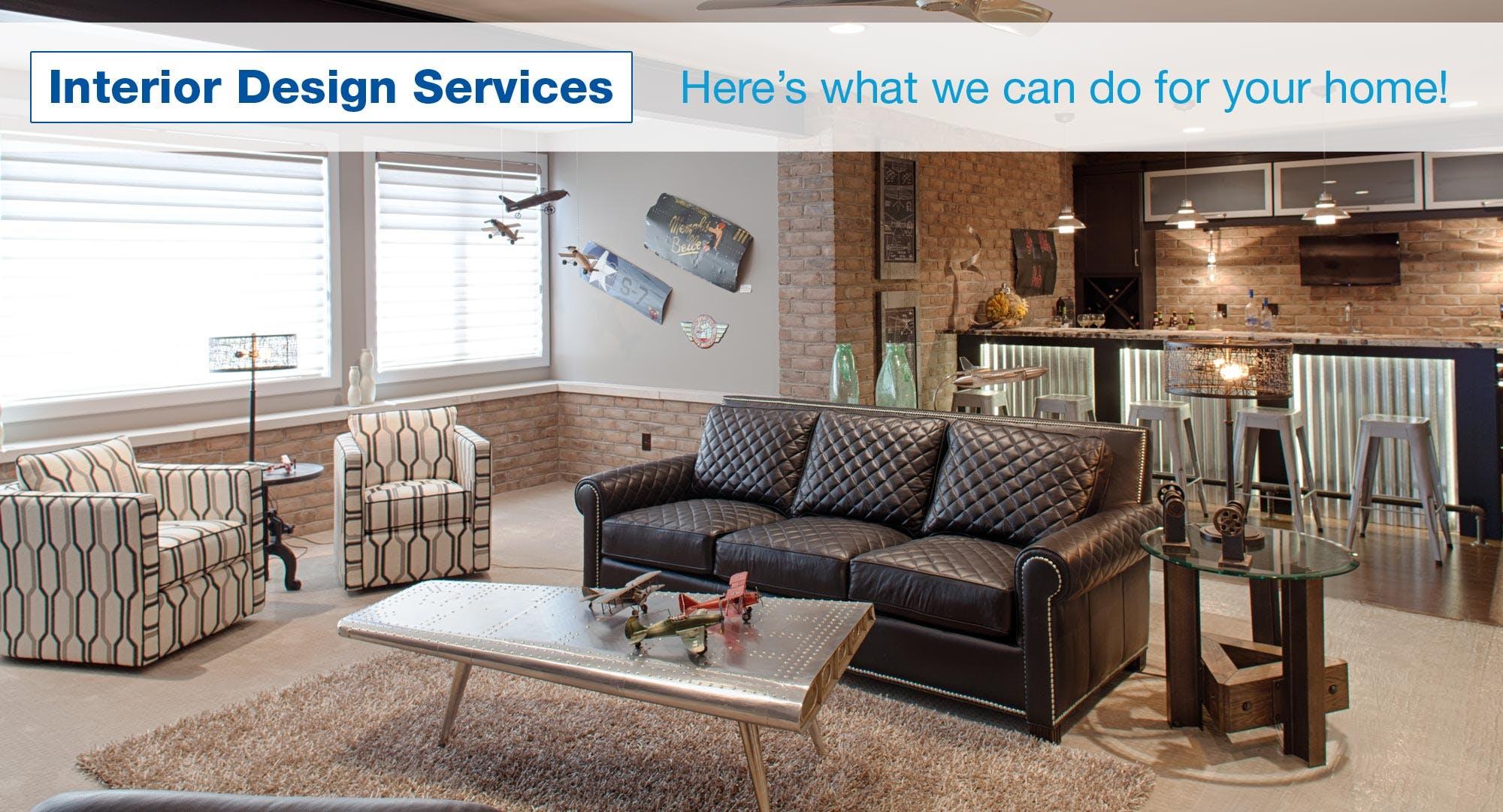 Interior design services cincinnati dayton for Interior design services