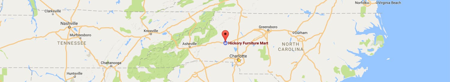 Directions to hickory furniture mart from anywhere in the world