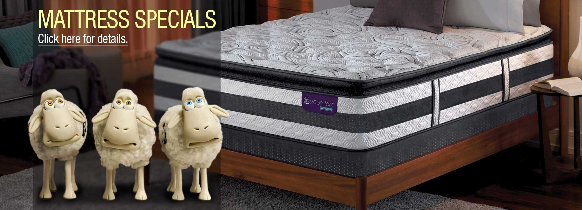 Shop for Mattress Specials in Cincinnati and Dayton OH