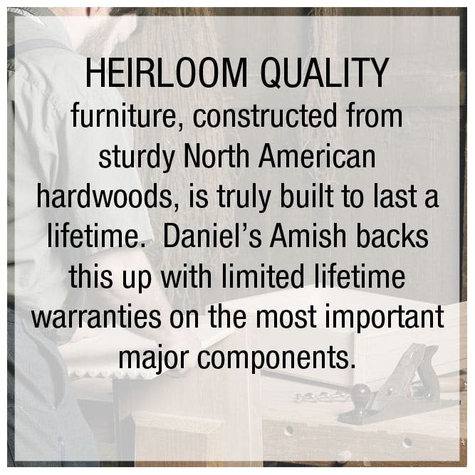 Heirloom quality furniture in Cincinnati and Dayton OH