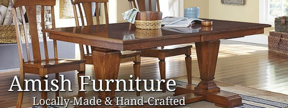 Amish Dining Room Tables   Bernhaus Furniture Amish Handcrafted