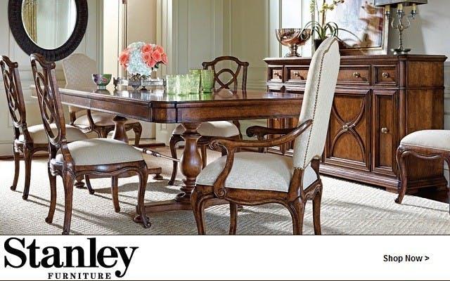 Stanley Furniture Dining Room Bedroom Lenoir Empire