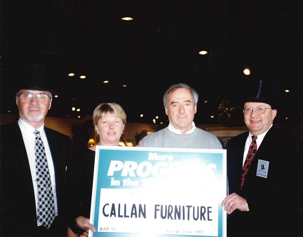 Callan Furniture 1980s And 1990s: Tim, Jim, And Vicki Callan Grew The  Buisness While Raising Families And Seeing St. Cloud Grow.