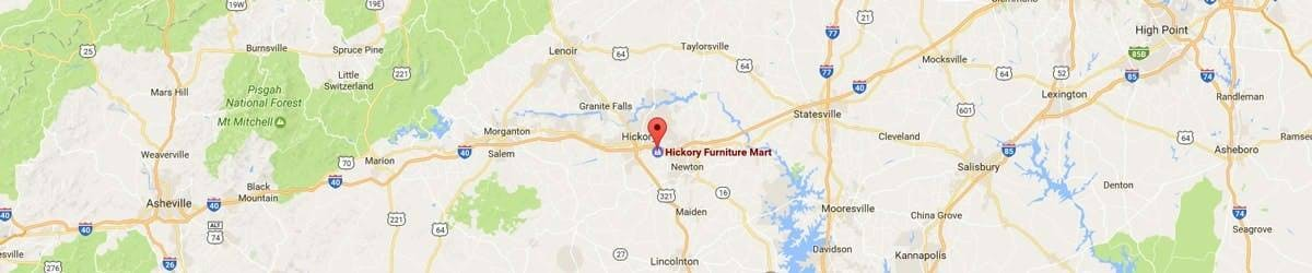 Click For Directions To Hickory Furniture Mart
