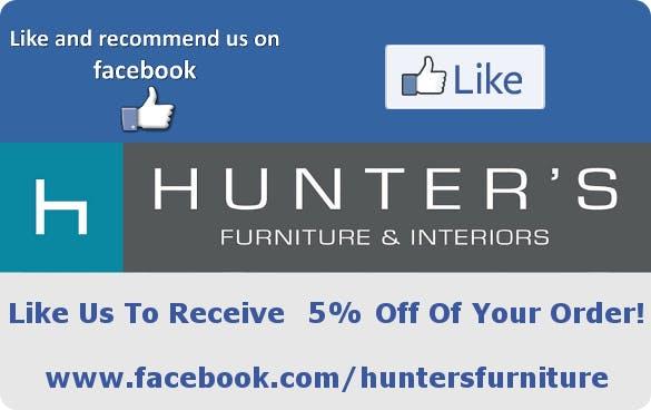Like Hunters Furniture On Facebook