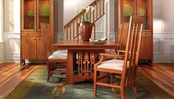 Stickley Furniture Dining Room Table Chairs In Lancaster PA
