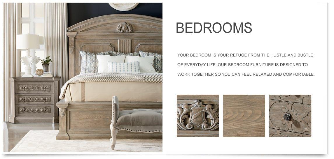 bedroom furniture - Bedrooms Bed