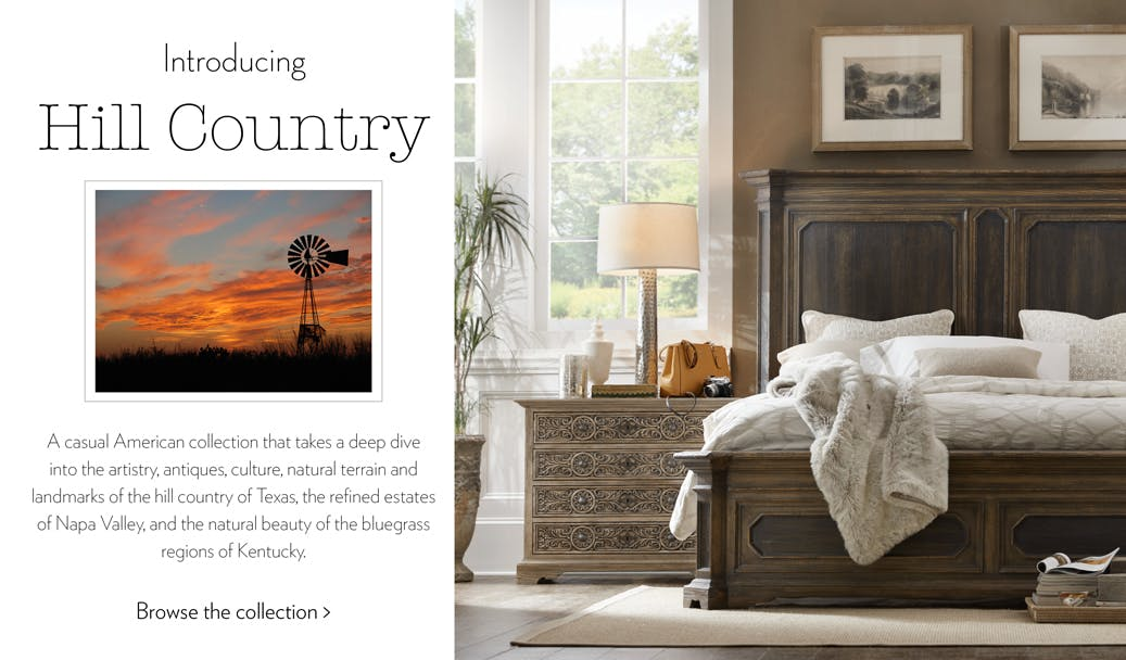 Hooker Furniture Hill Country Collection