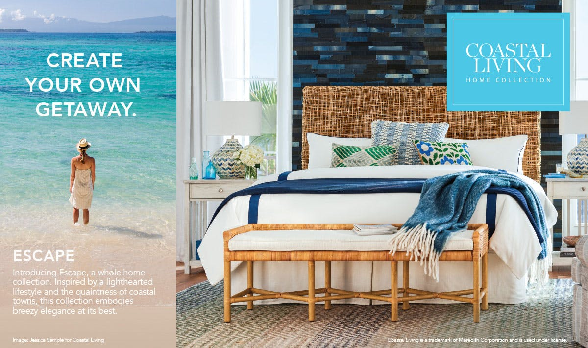 Universal Furniture Escape Coastal Living Home Collection